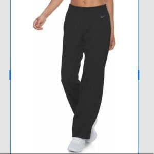 Nike boot cut yoga/running pants drawstring waist